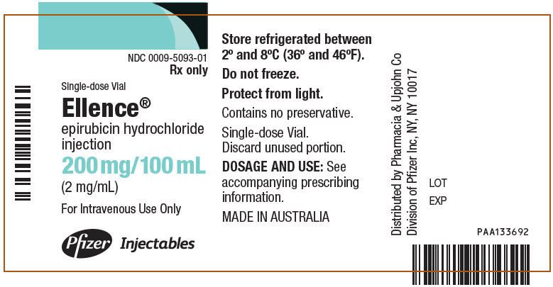 PRINCIPAL DISPLAY PANEL - 200 mg/100 mL Vial Label
